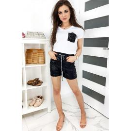 BASIC SKY women's shorts black SY0124