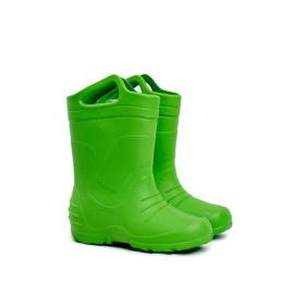 Children's Rubber Galoshes Boots Green Removed Insert Stomilki