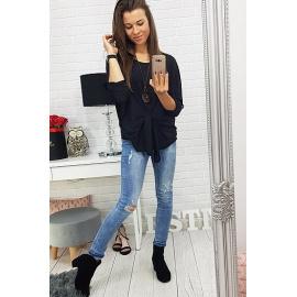 Black women's blouse RY0424