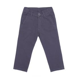 Materiałowe ciemnoszare spodnie dla chłopca