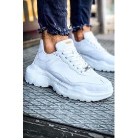 Sneakersy męskie białe ZX0135