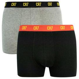 2PACK pánské boxerky CR7 vícebarevné (8302-49-2724)
